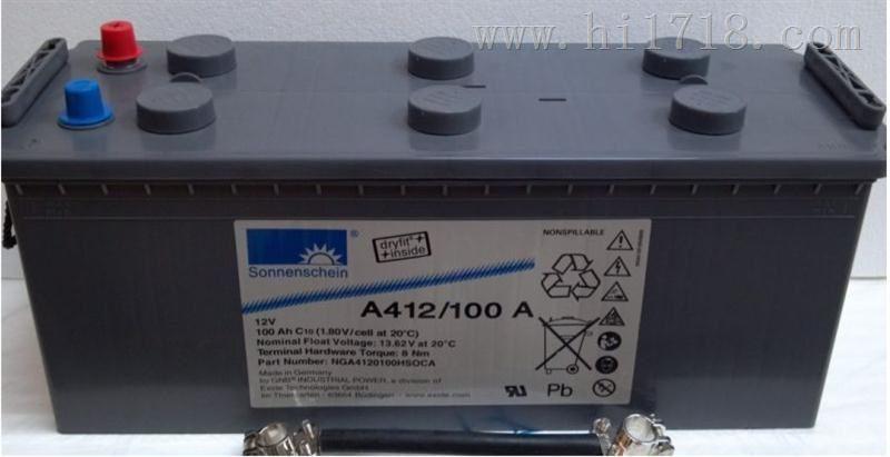 A412/100F10胶体蓄电池价格