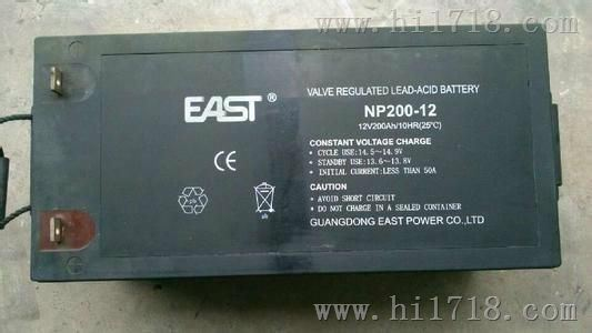 EAST(易事特)蓄电池NP200-12  12V200AH