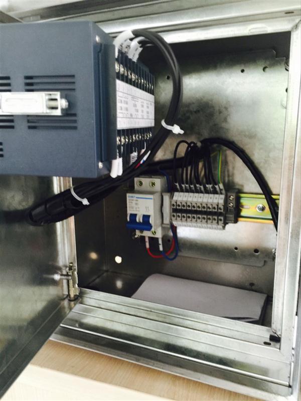 防爆帶遠傳液晶智能流量積算儀