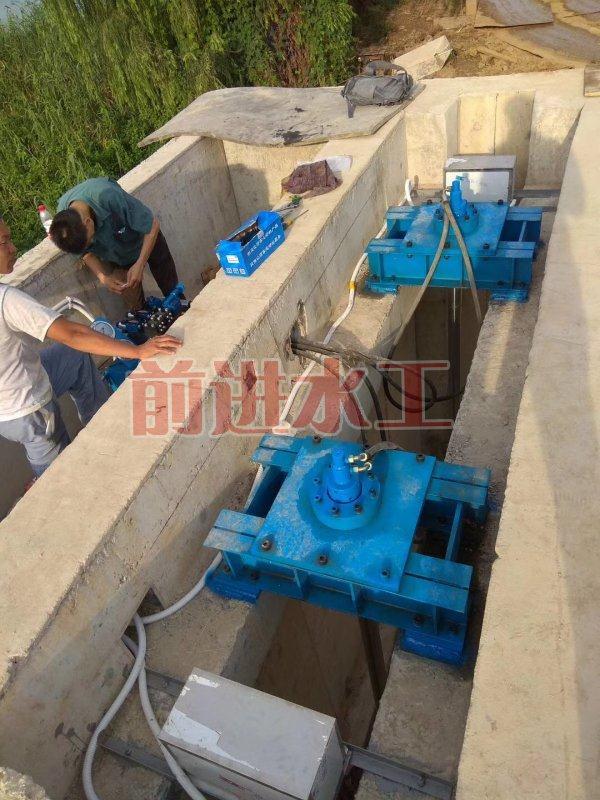 3米液压景观钢闸门厂家