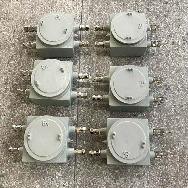 隔爆型防爆接线箱(ⅡC级)厂家定做