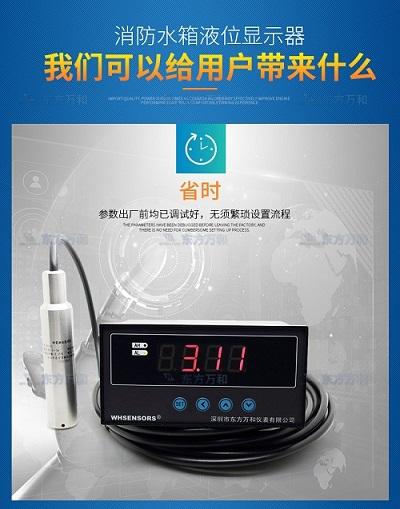 实时地下水液位查询监测显示仪WH311 可传输5公里