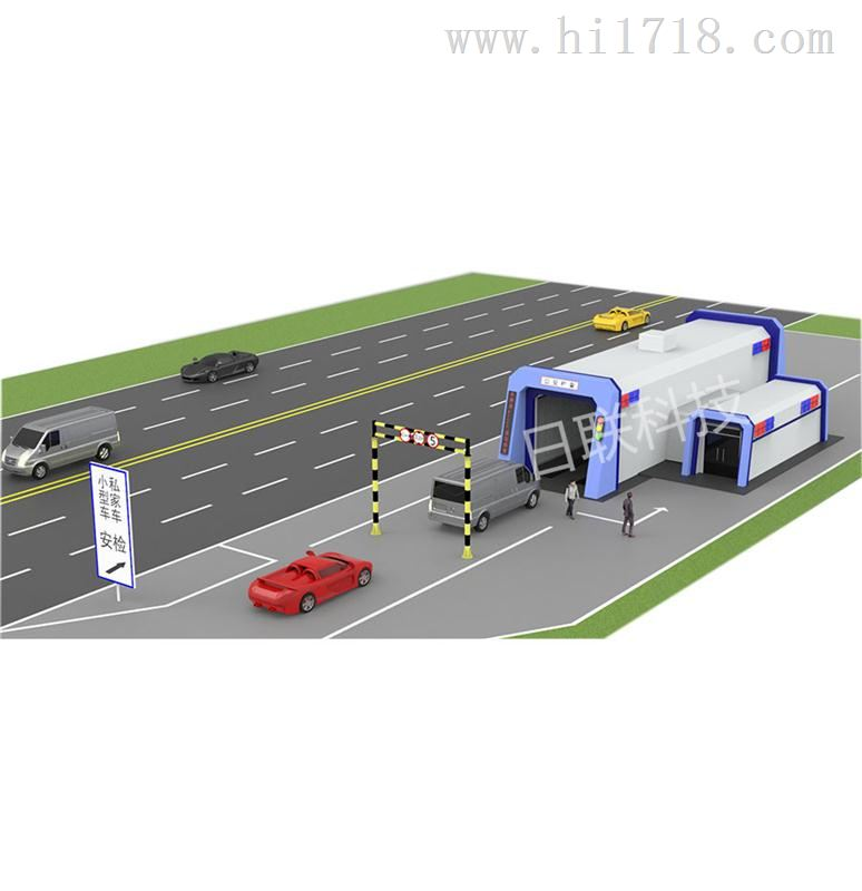 X-RAY扫描,小型车辆快速检查系统