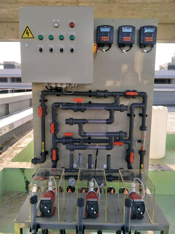 全自动工业水处理成套加药装置
