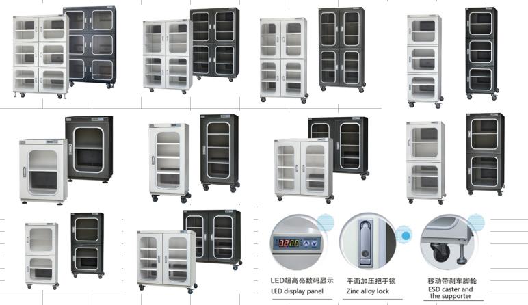 安晟CTS-1436AD工业型超级防潮箱