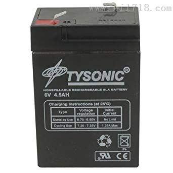 美国原装进口TYSONIC蓄电池代理报价