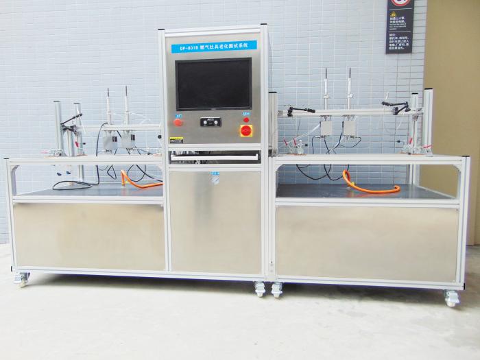 燃气灶具在线性能测试系统