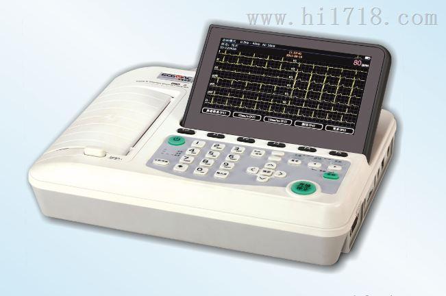 六道数字式心电图机