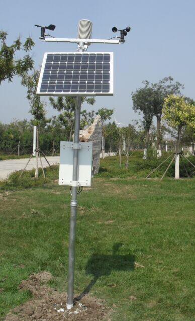 小型农业科研智能自动气象站气候监测系统