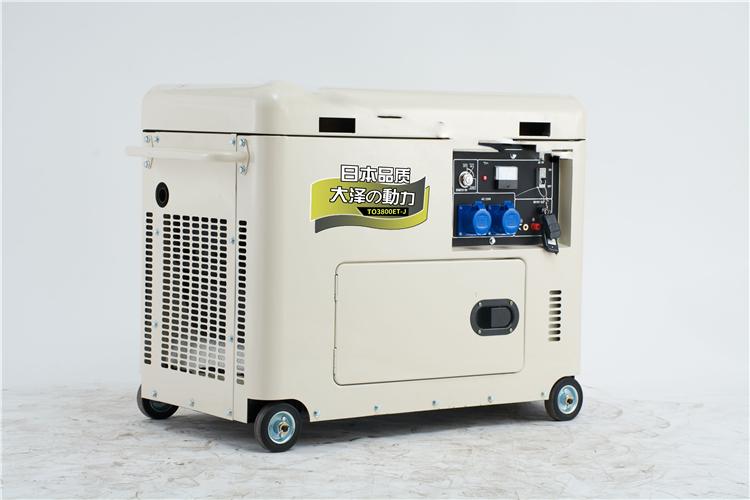 5千瓦静音柴油发电机优势