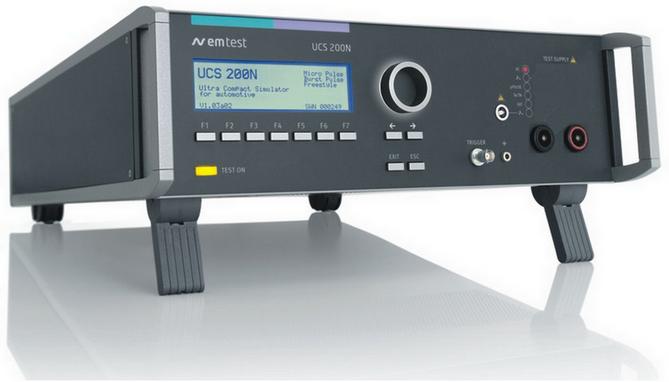 瑞士EM TSET UCS200N超小型汽车瞬变模拟器