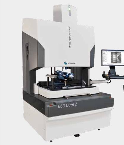 海克斯康663 Dual Z激光二维影像测试仪