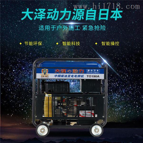190A柴油发电电焊机型号大泽动力