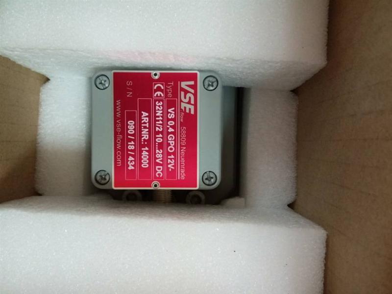低噪音VSE齿轮流量计全新进口