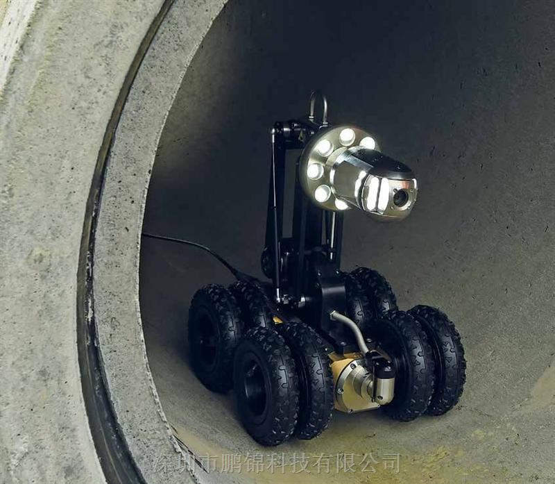 高清影像CCTV管道爬行系统