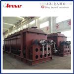500kg/h化工混合污泥空心桨叶干燥机