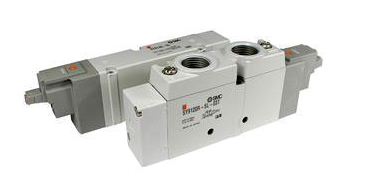 SMC禁油处理直动式四通电磁阀