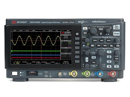 是德科技InfiniiVision DSOX1204G示波器