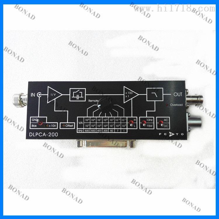 DLPCA-200低噪声可变增益电流放大器