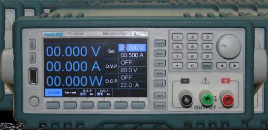 费思FTL8020P宽范围小功率程控直流电源