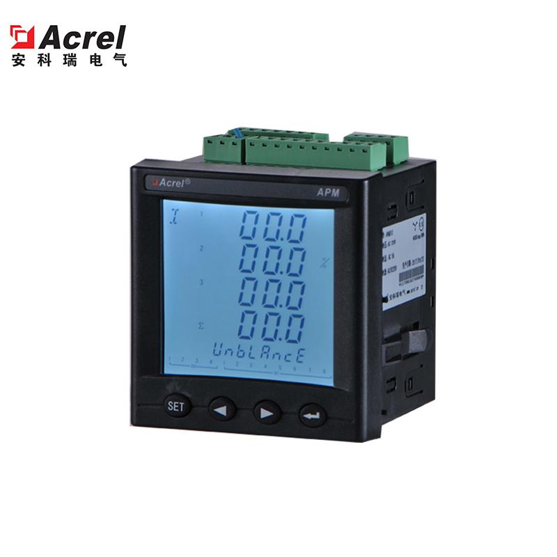 安科瑞APM801以太网峰平谷仪表
