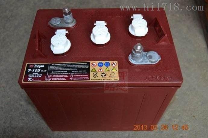 邱健蓄电池 trojan T-125 6V240AH现货销售