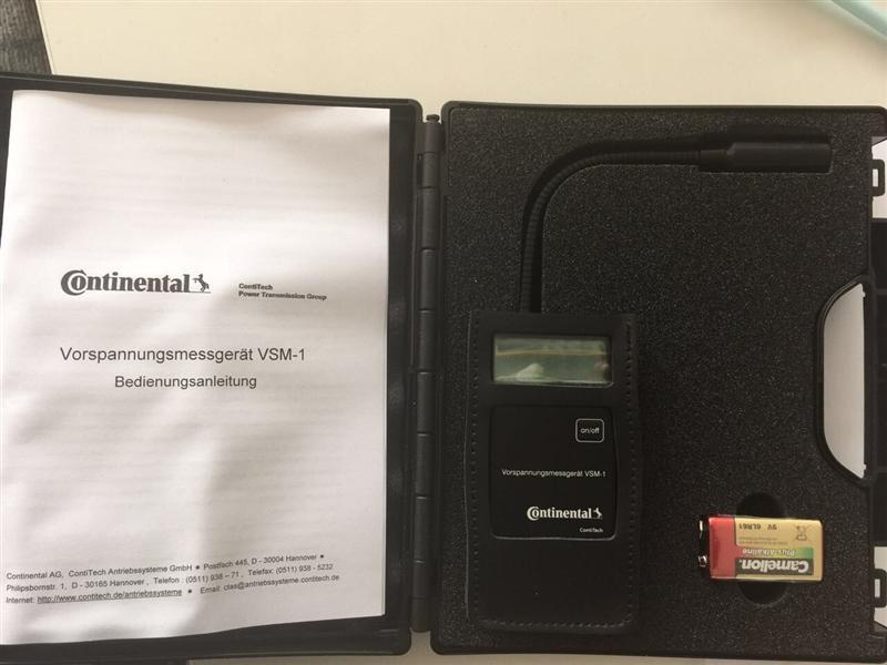德国Continental VSM-1手持式皮带张力计