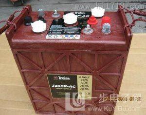 邱健蓄电池 J305HG-AC 6v360ah 球车专用