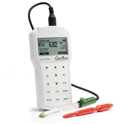 意大利哈纳HI98168土壤酸度测量仪