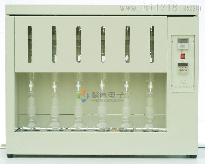 粗脂肪测定仪JT-SXT-02索氏提取器深圳
