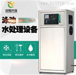 廣州創粵30g游泳池水處理臭氧發生器