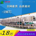 隧道式液氮速凍機/成都卓達運通速凍機