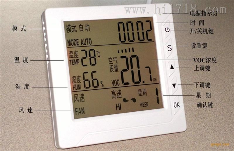 HRT-01型室内智能空气质量控制器
