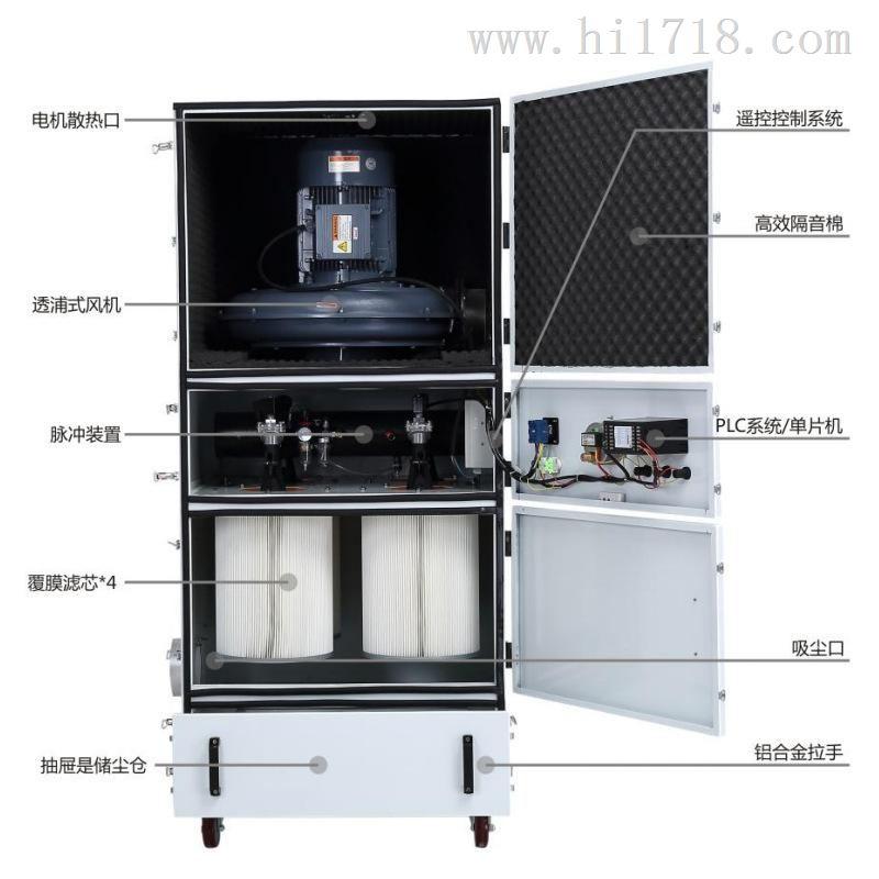 厨房吸油烟吸尘器粉碎机除尘机