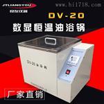 DV-20数显恒温油浴锅生产厂家