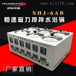 SHJ-6AB多工位恒溫磁力攪拌水浴鍋