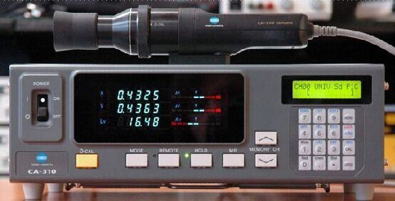 9.9成新CA310色彩分析仪