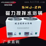 SHJ-2A双孔磁力搅拌水浴锅