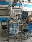 沈阳定制10-100L双层玻璃反应釜可测实验物料的PH值