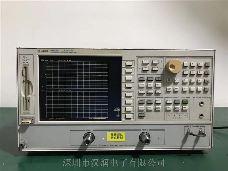 惠普8753ES 闲置收购实验室设备 6g网分