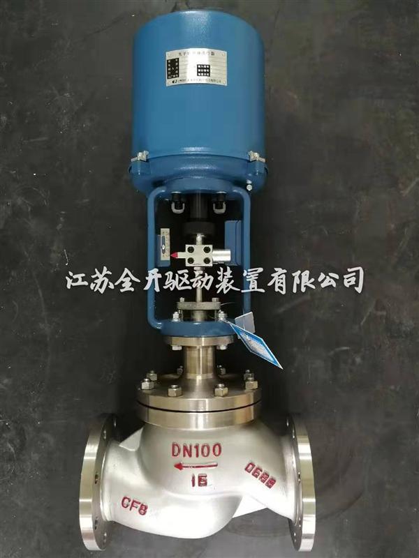 ZDLJP-16P-1DN25不锈钢电动单座调节阀