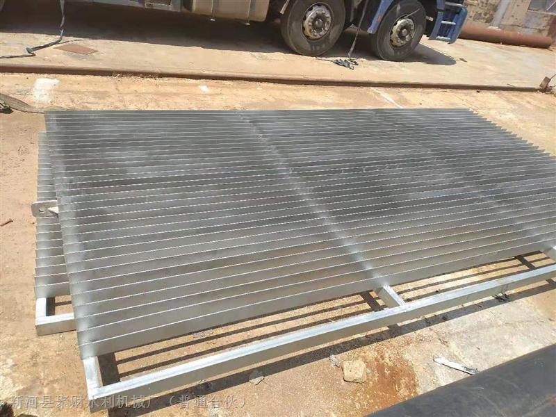 定制不锈钢拦污栅机械格栅3m*4m