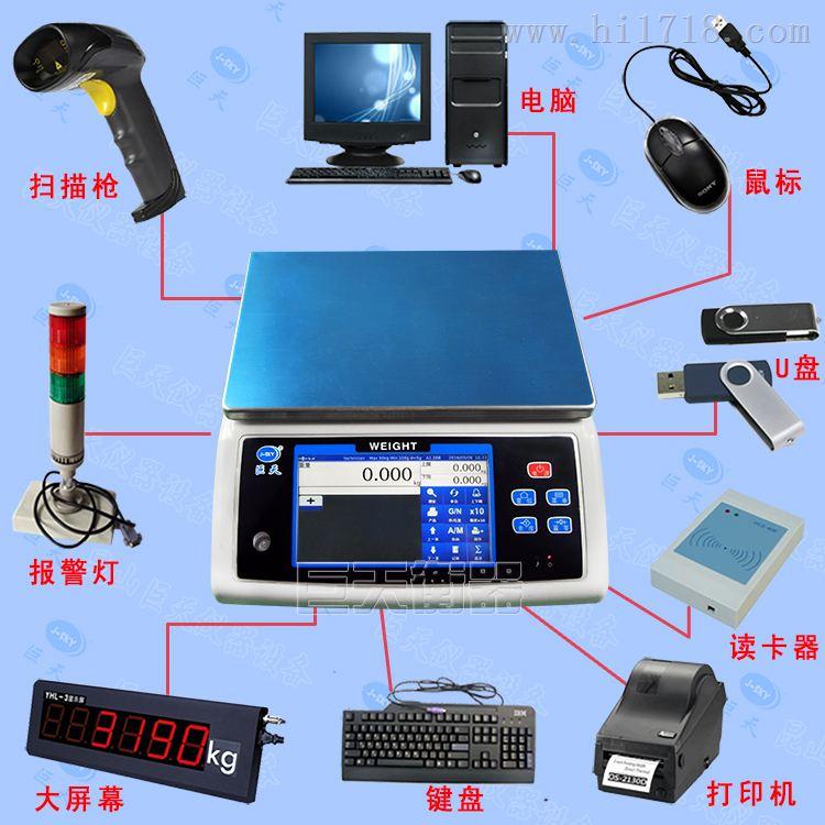 巨天WN-Q20S带三色灯打印标签的智能电子秤报价