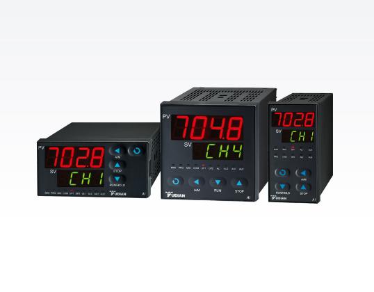 4路可编程控制器宇电AI-7048温度调节仪