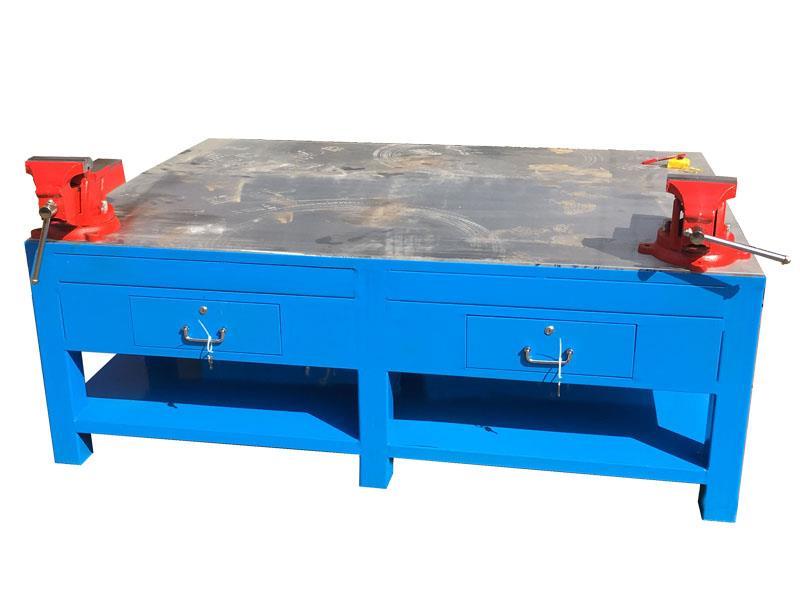 深圳虎鉗鉗工工作臺-模具鋼板桌