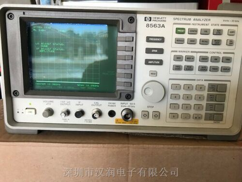 功德之王8562A/8563A二手26.5G频谱分析仪