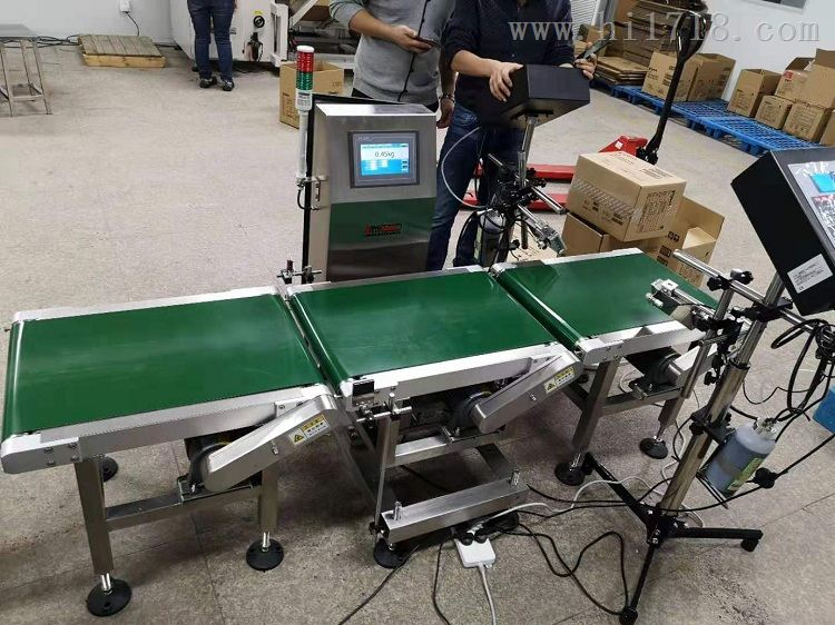 50kg流水线自动化在线检重电子秤