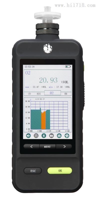 LB-KY4X智能型泵吸四合一氣體檢測儀