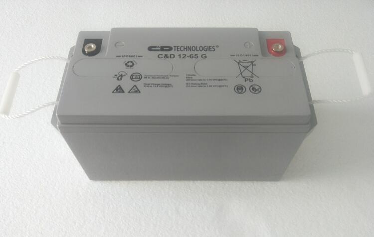 C&D西恩迪蓄電池C&D12-65G價格