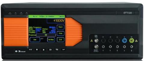 EFT 500电快速瞬变脉冲群模拟器